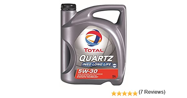 Total 181714 Quartz Ineo Long Life 5W30 Lubricante 5L: Amazon.es: Coche y moto
