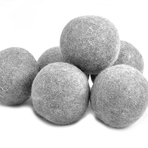 Yazer Wool Dryer Balls, 6 - Pieces, Gray Image