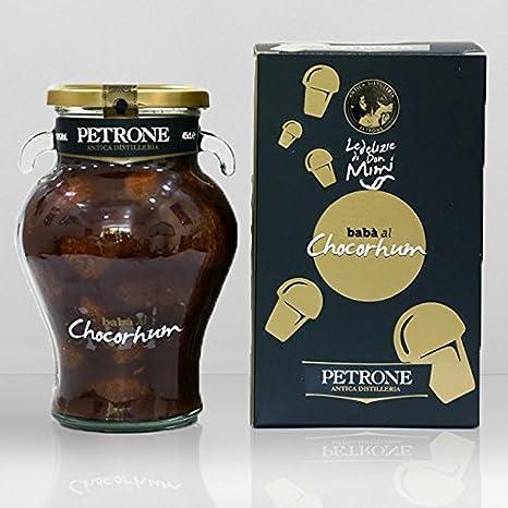 Babà en el licor - ChocoRhum - - Cartón 6 Piezas: Amazon.es ...
