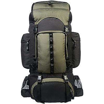 Amazon Basics - Wanderrucksack mit Innengestell und Regenschutz