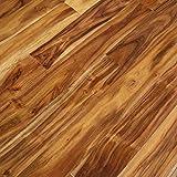 Acacia Natural Hand Scraped Solid Hardwood Floor (Sample)