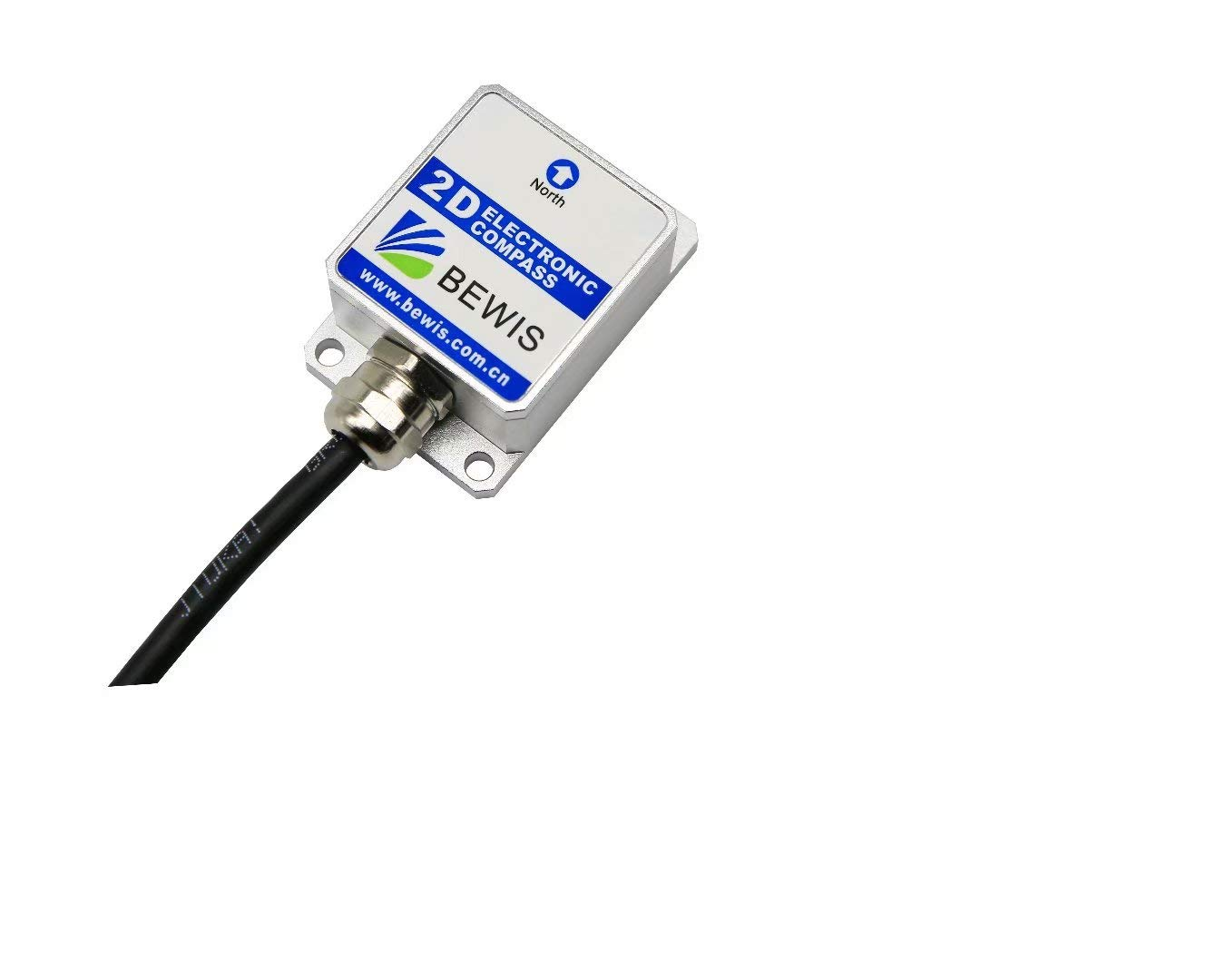 2D Digital Compass inclinometer Sensor LEC210 with Heading Accuracy 2 Degree and RS232,RS485,TTL,Modbus Output
