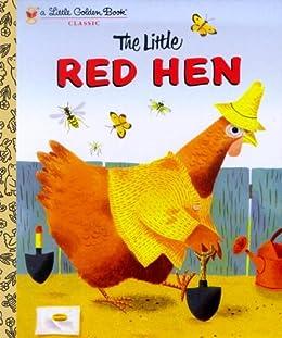 The Little Red Hen (Little Golden Book) by [Miller, J.P.]