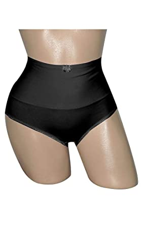0f2293d0b2 Carol Wior Cotton Belly Band Panties 232238 Set of 2 at Amazon Women s  Clothing store