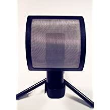 The Hook Studios Vertical Curve Pop Filter Designed for APOGEE MIC
