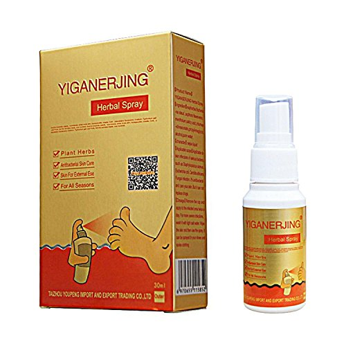 Leegoal Natural Herbal Eczema Skin Therapy Spray, Natural Chinese Herbal Remedy Spray for Psoriasis, Eczema, Psoriasis and Athletes Foot Vitiligo Skin Disease Treatment Antibacterial Ointment