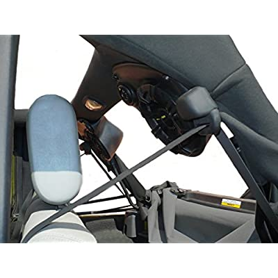 JKU-Pods By Select Increments - 07-16 Jeep Wrangler Unlimited Speaker Pods (Enclosures Only): Car Electronics