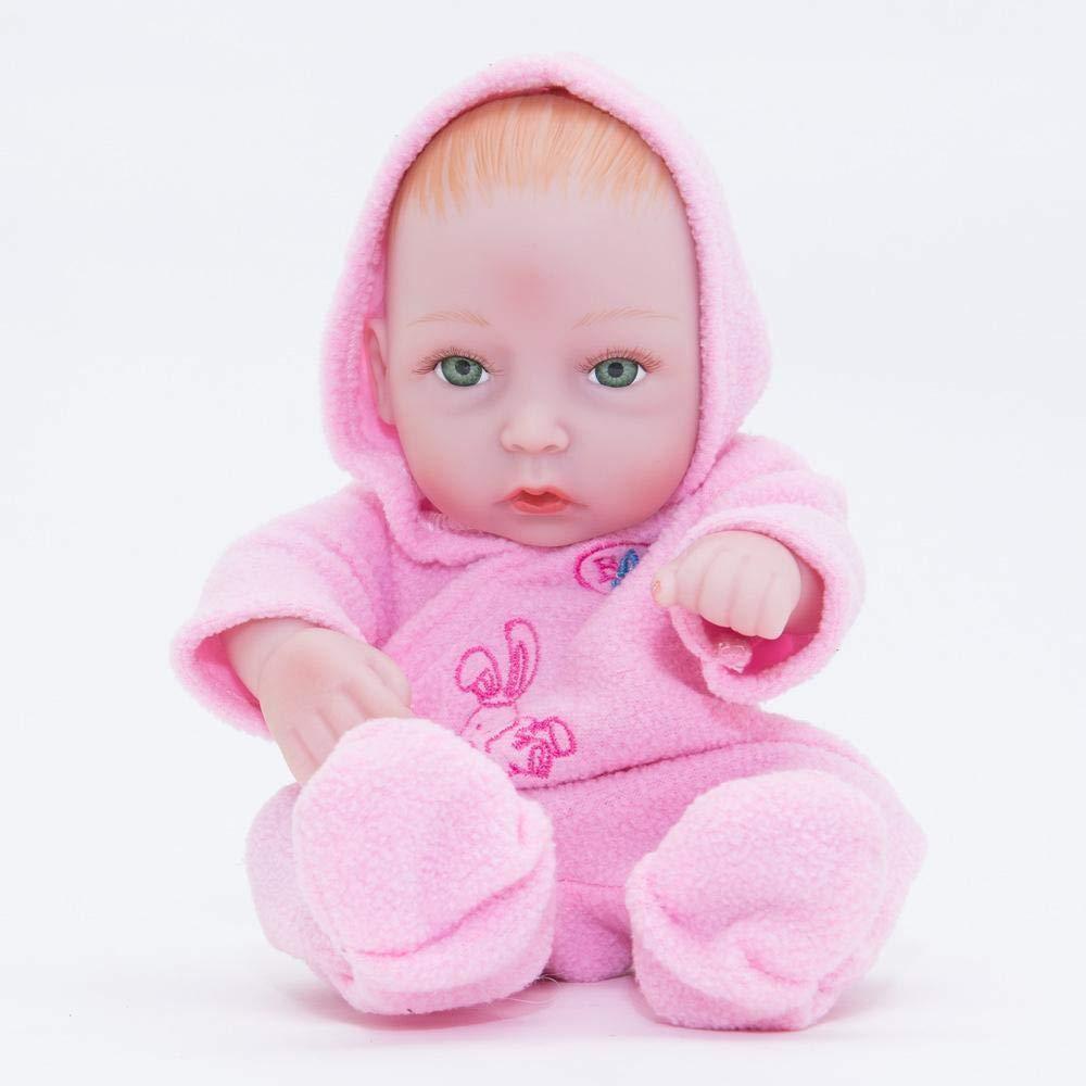 Venta barata Hongge Reborn Baby Doll,Bebé Doll,Bebé Doll,Bebé Realista Puede bañarse Completo Gel Silicona Reborn muñecas Mejor Regalo de cumpleaños de Navidad 28cm  producto de calidad