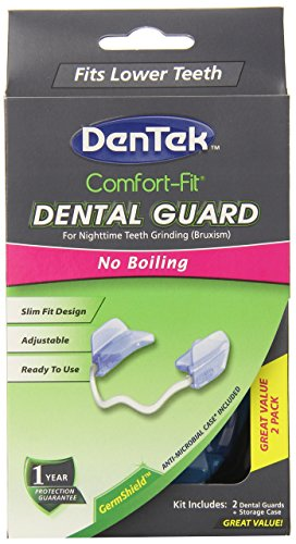 DenTek Comfort-Fit Dental Guard Kit | For Nighttime Teeth Grinding | 2 Pack