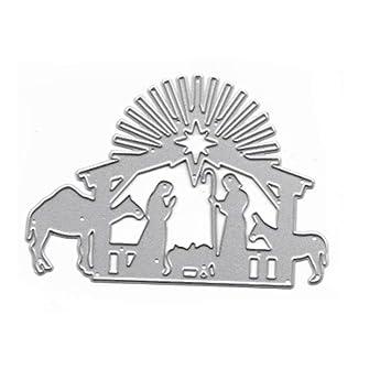 Weihnachten Metall Stanzformen Schablone Scrapbook Papierkarten Handwerk Prägung