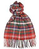 Lambswool Scottish Macdougall Modern Tartan Clan Scarf Gift