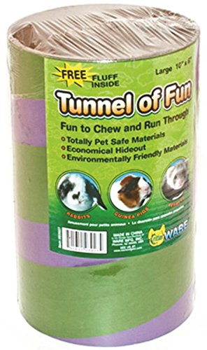 Ware Manufacturing Tunnels of Fun Small Pet Hideaway, Large