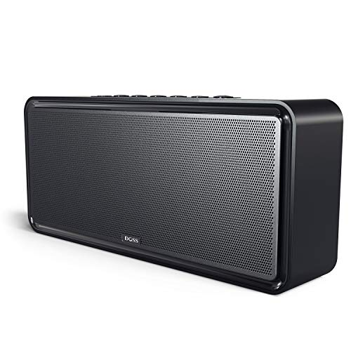 DOSS SoundBox XL 32W Bluetooth Speakers, Louder Volume 20W Driver, Enhanced Bass with 12W Subwoofer. Perfect Wireless Speaker for Phone, Tablet, TV, and more (Best Ipad Dlna Player)