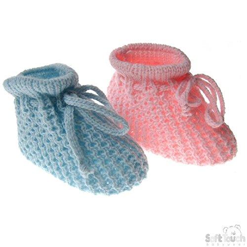 Soft Touch , Baby Mädchen Krabbelschuhe & Puschen rosa rose blau