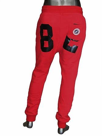 Sweet Pants-Pantalón de chándal para hombre, color rojo, 82 loose ...