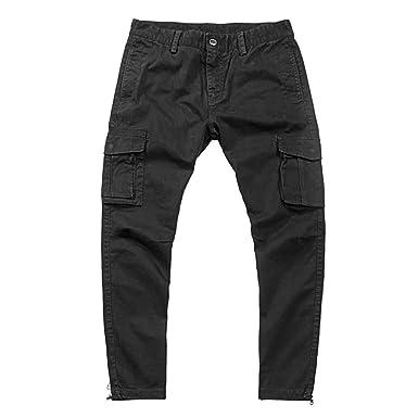 Emubody Wooden Velvet Men Work Casual Plus Size Jeans Yoga ...