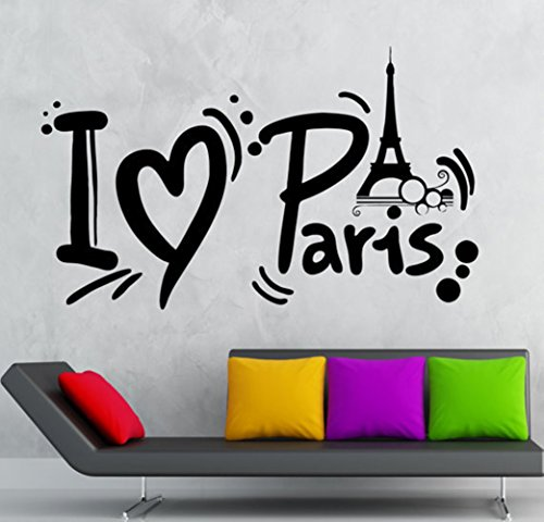 Paris Effiel Bedding Stickers Bedroom product image