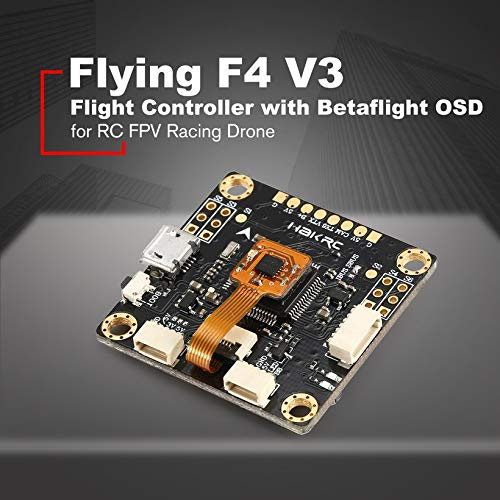 Wikiwand Flying F4 V3 Flight Controller with Betaflight OSD for RC FPV Racing Drone by Wikiwand (Image #2)