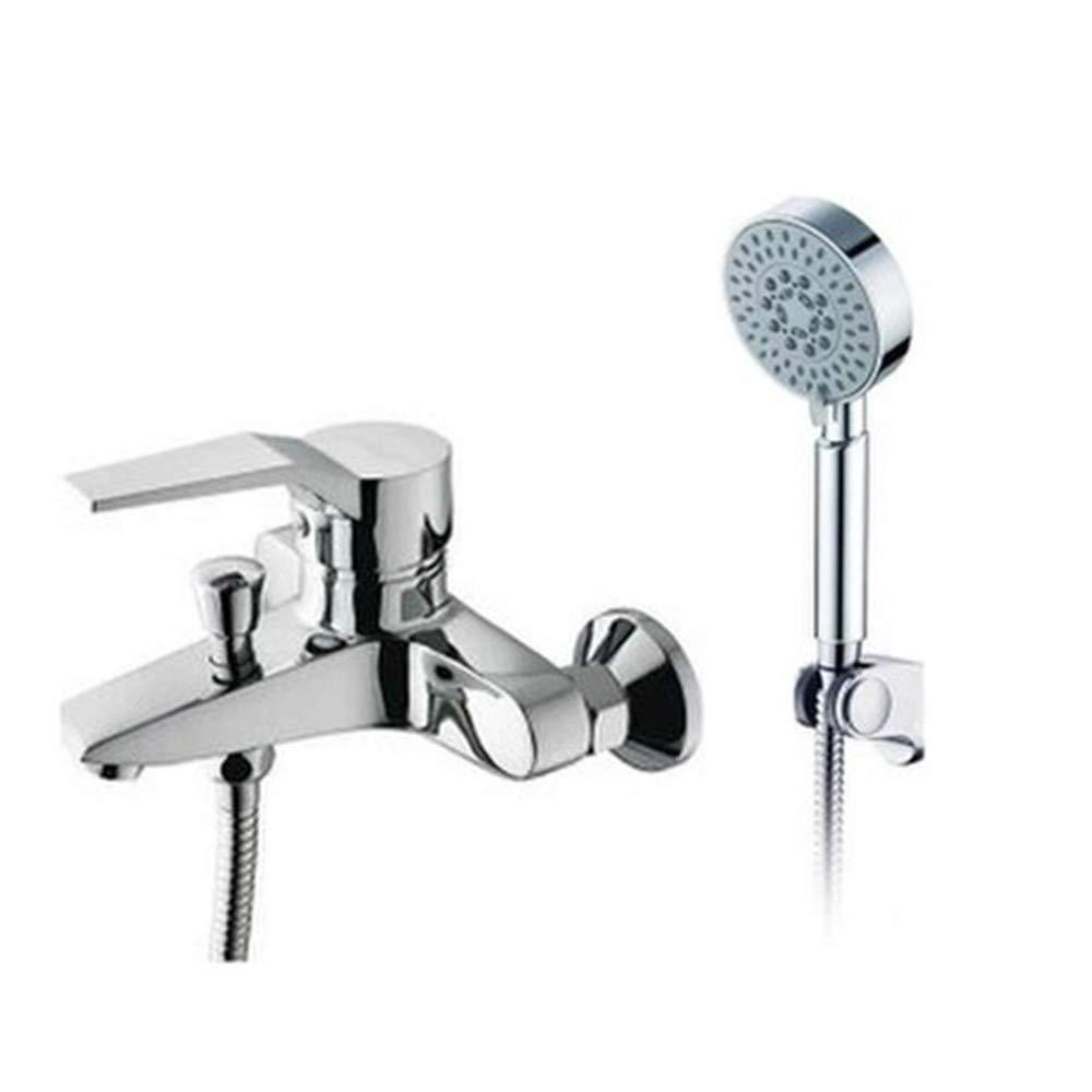 WasserhahnTap Shower set copper hot cold faucet bathroom shower home rain shower head set