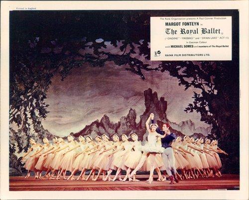 The Royal Ballet original British Lobby Card Margot Fonteyn color (Rare Vintage Poster)