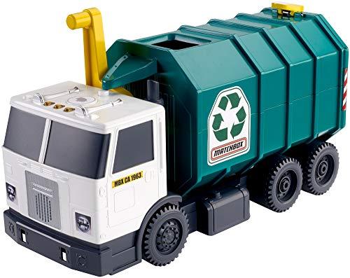 51KKzDbU3lL - Matchbox Garbage Truck Large [Amazon Exclusive]