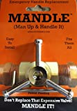 Universal Plumbing Repair Handle- Emergency Valve Handle Replacement-One Handle FITS ALL VALVES!'THE MANDLE'