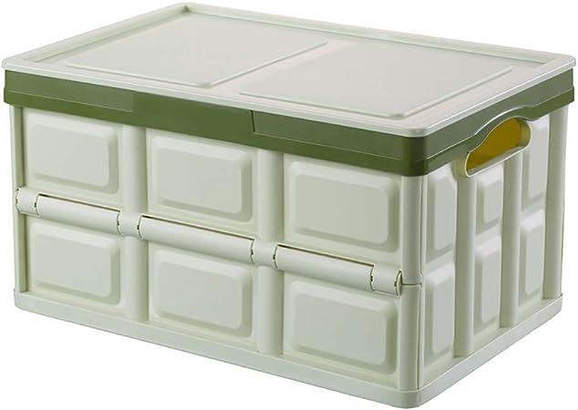 Caja de almacenamiento de plástico grande Cajas de almacenamiento plegables a prueba de humedad, a prueba