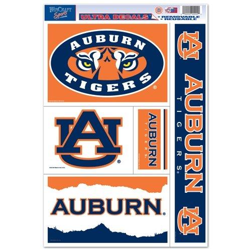 WinCraft NCAA Auburn University 02431011 Multi Use Decal 11 x 17