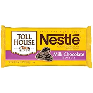 Nestle Toll House Milk Chocolate Morsels, 11.5 Ounce Package