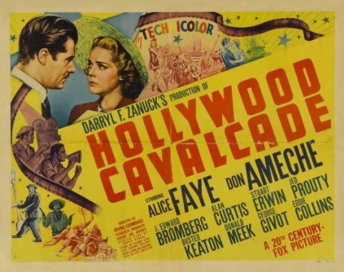 Hollywood Cavalcade POSTER Movie (22 x 28 Inches - 56cm x 72cm) (1939) (Half Sheet Style A) ()