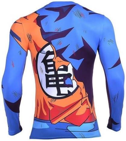 AestheticCosplay Goku Vegeta Dragon Ball Z DBZ - Camiseta de ...