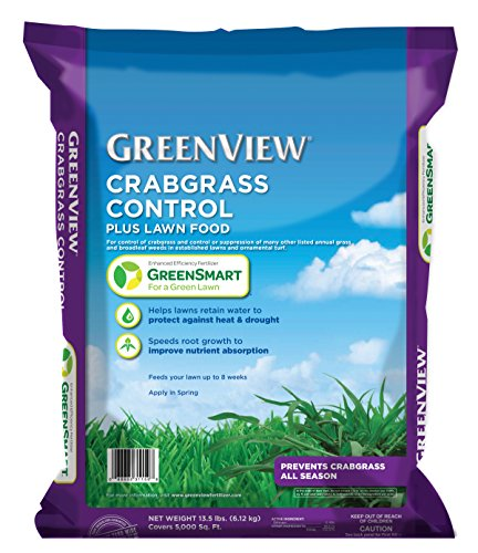 GreenView  Crabgrass Control Plus Lawn Food, 13.5 lb bag Covers 5000 sq. ft.