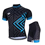 ZEROBIKE® Men Cycling Jersey Bicycle Bike Cycle Short Sleeve Jersey Jacket Comfortable Breathable Shirts Tops Sportswear
