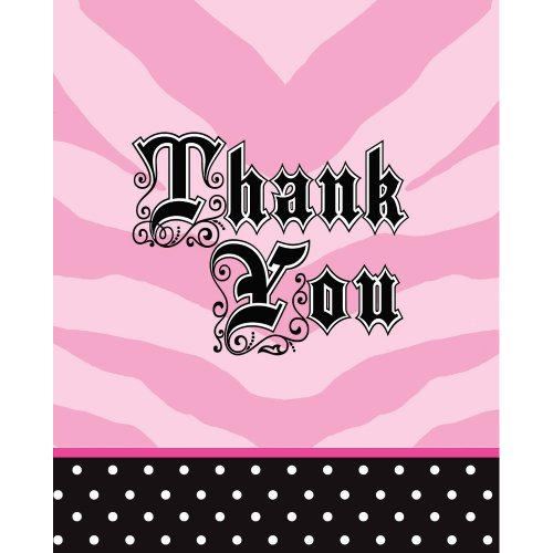 Creative Converting Super Stylish 8 Count Thank You Cards]()
