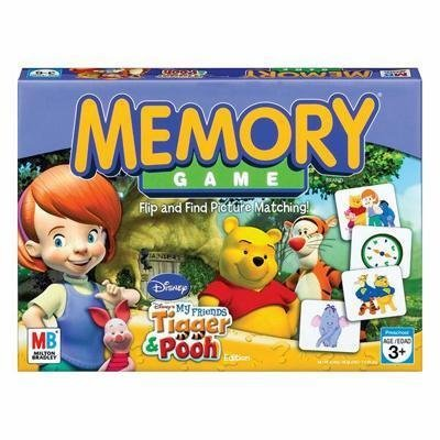 Memory Pooh Game (Disney My Friends Tigger & Pooh Edition~The Memory Game)