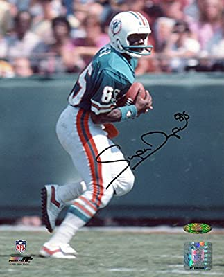 Mark Duper Signed Autographed Miami Dolphins 8x10 Photo TRISTAR COA