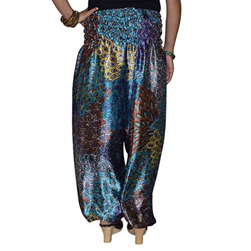 Para Pantalón Azul Mujer Mujer Marusthali Para Azul Para Marusthali Pantalón Marusthali Pantalón tqwxIgf