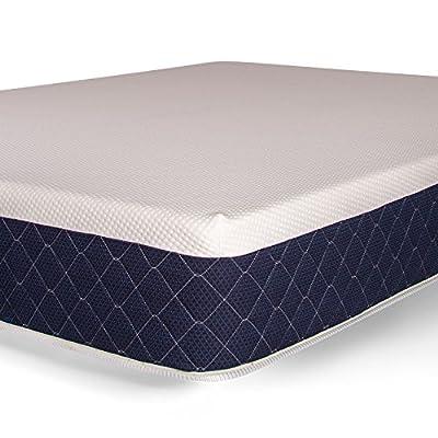 "Brooklyn Bedding Bowery 10"" Medium Comfort Mattress with Hyper Responsive Memory Foam"