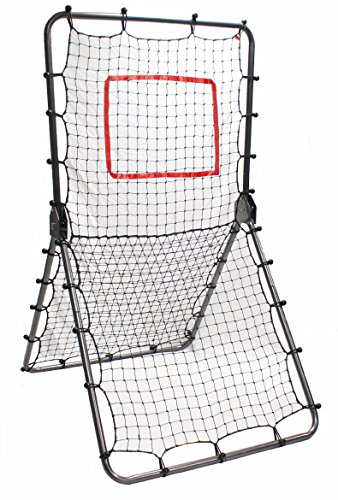 Trigon Sports Multi-Sport Net Pitch Back Screen Rebounder, Gray by Trigon Sports