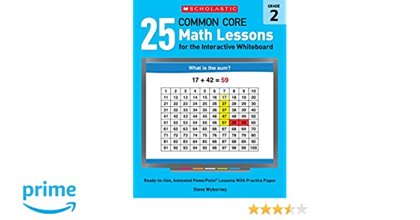 Amazon.com: 25 Common Core Math Lessons for the Interactive ...