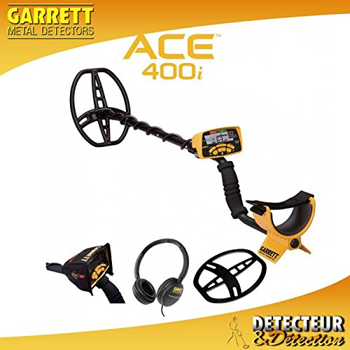 Garrett ACE 400i metal detector review, tech specs, features ... on
