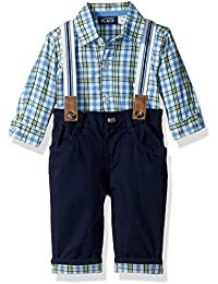 The Children's Place Baby-Boys' Li'l Guy's Suspender Outfit Set