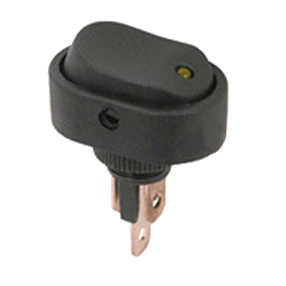 Mintice/™ 5 X 12V 30A Auto KFZ Schalter Rot LED Licht EIN//AUS Wippenschalter Kippschalter 3-polig