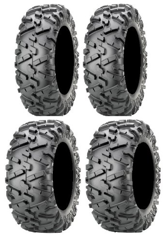 Full set of Maxxis BigHorn 2.0 Radial 26x9-12 and 26x11-12 ATV Tires ()