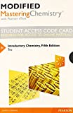 Modified MasteringChemistry with Pearson EText -- Standalone Access Card -- for Introductory Chemistry 5th Edition