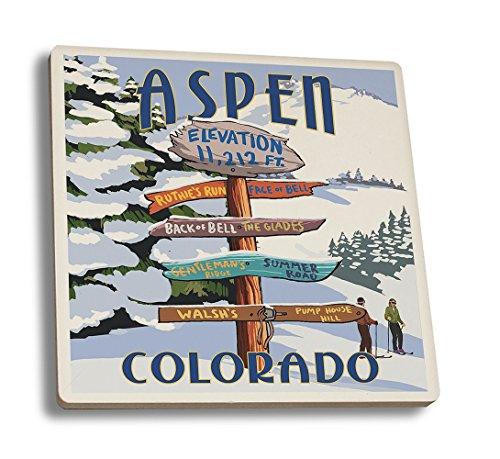 Aspen Vintage Poster - 6