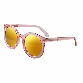 3658b17d6a LXKMTYJ Caja Grande Afluencia Personalidad Gafas De Sol Brillante Color  Reflectante Film Anti Uv Gafas De Sol Rojo Y Naranja: Amazon.es: Deportes y  aire ...