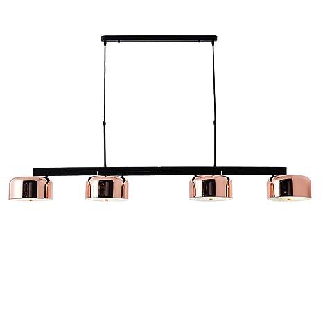 SELMAL Araña de Oro Rosa, lámpara de Techo Moderna con ...