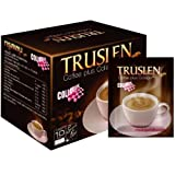 Truslen Coffee Plus 0 Calorie Collagen Sugar Free Instant Coffee Diet Slimming 2 Box = 20 Sachets