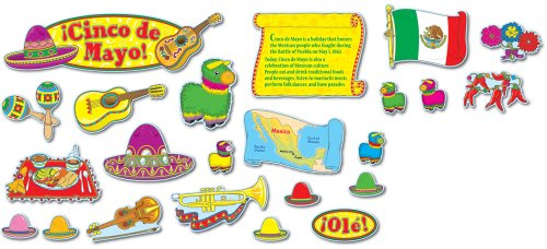 Cinco de Mayo Mini Bulletin Board Set